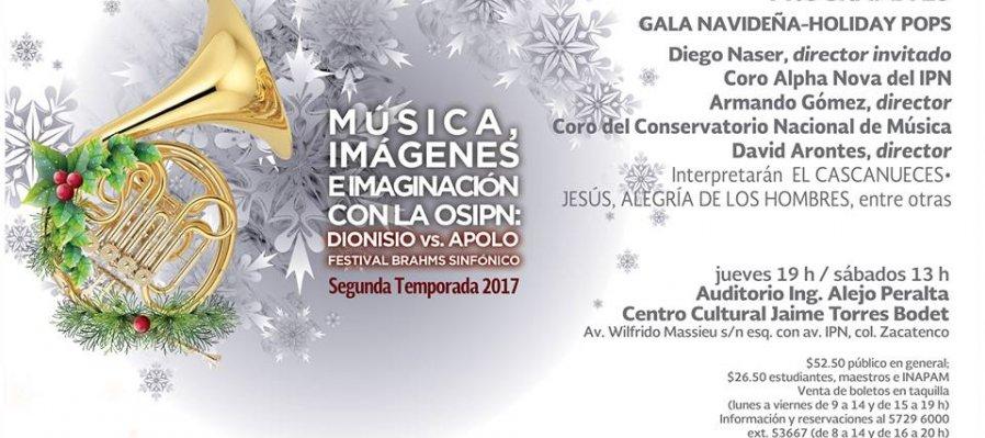 Gala Navideña Holiday Pops