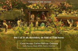 Traditional Nativity Scene