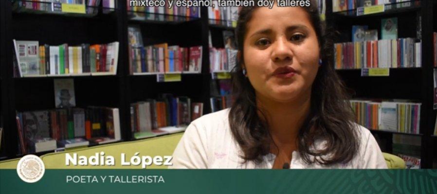 Nadia López, poeta en lenguas originarias