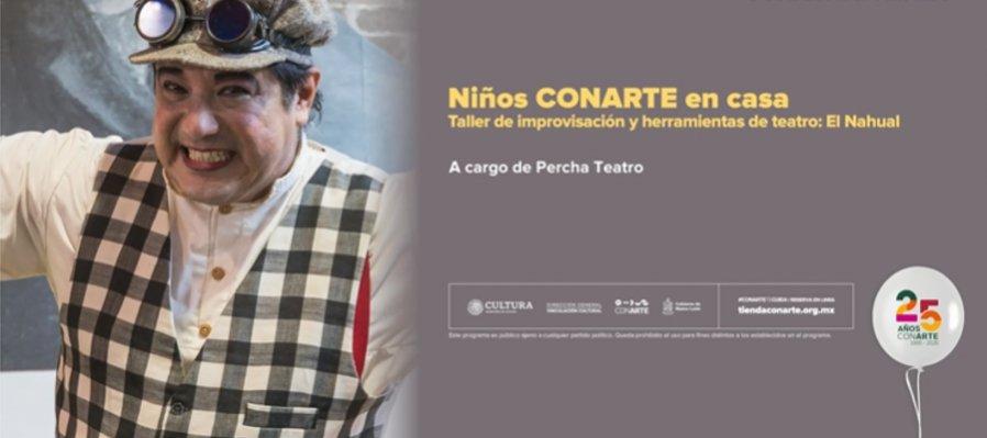 Taller de improvisación y herramientas de teatro: El Nahual