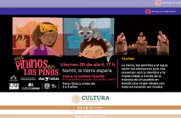 Mis Pininos en Los Pinos en línea: Nantli, la tierra esp...