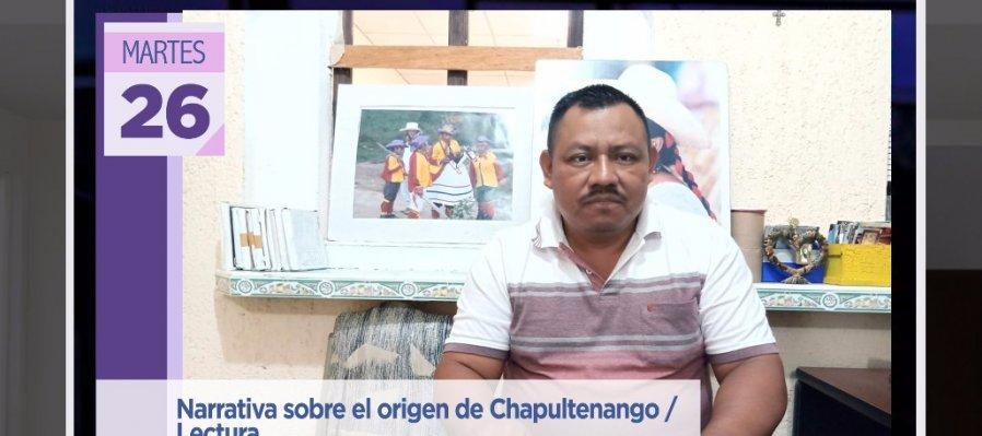Narrativa sobre el origen de Chapultenango