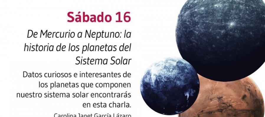 De Mercurio a Neptuno: la historia de los planetas del Sistema Solar