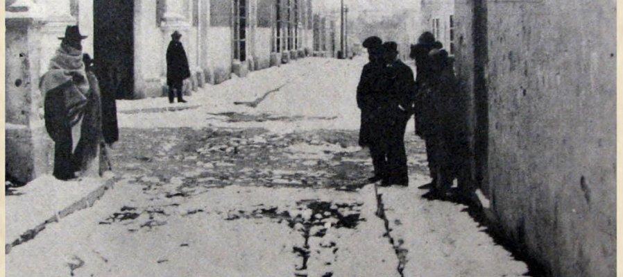 13 de enero de 1918: Huracán y nevadas causan destrozos en el norte del país