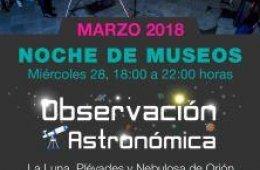 Noche de Museos Observación Astronómica