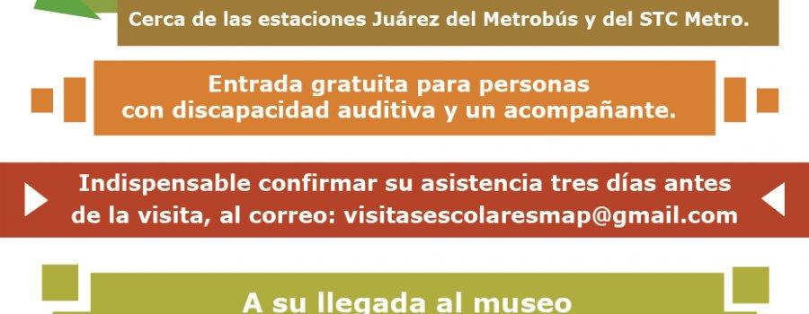 Noches de museo para sordos