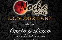 Noche lírica muy mexicana