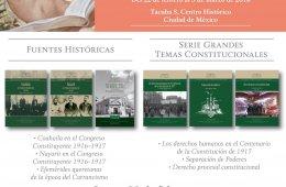 Presenta el INEHRM la Biblioteca Constitucional