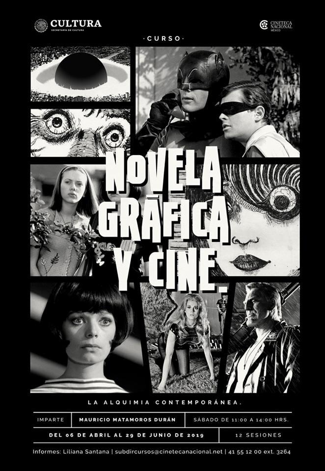 Curso Novela Gráfica y Cine: La alquimia contemporánea