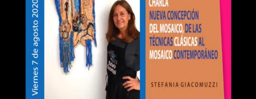 Nueva concepción del mosaico Stefanía Giacomuzzi
