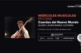 Concierto: cuerdas del nuevo mundo con Álvaro Javier Iba...
