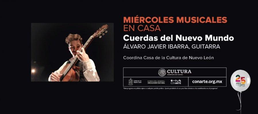 Concierto: cuerdas del nuevo mundo con Álvaro Javier Ibarra