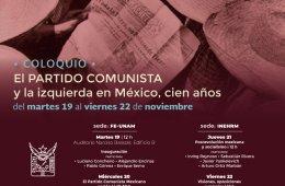 El partido comunista y la izquierda en México, cien año...