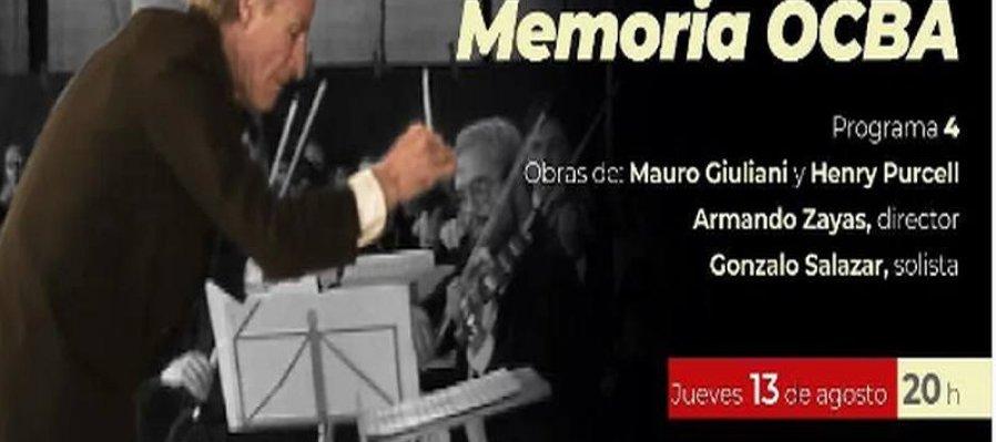 Temporada de Verano Memoria OCBA