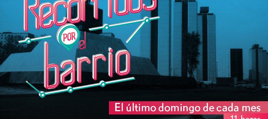 Recorrido por el barrio. Descubre la historia de Tlatelolco