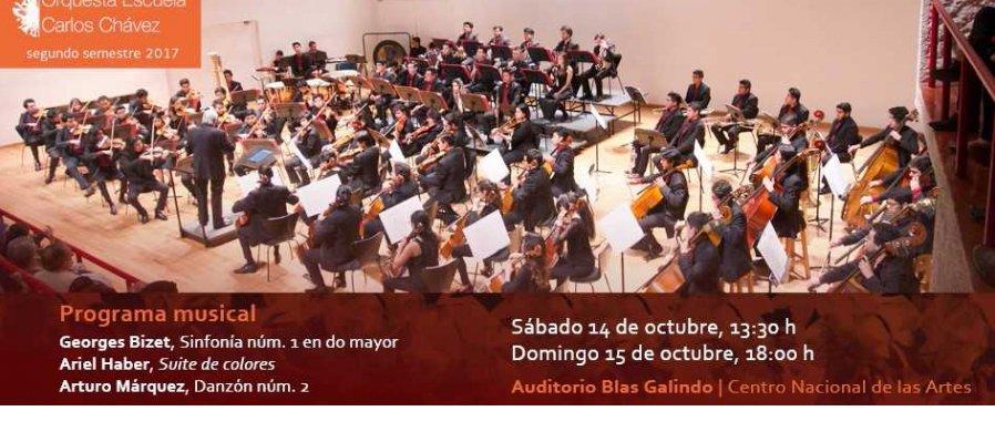 Conciertos de la Orquesta Escuela Carlos Chávez