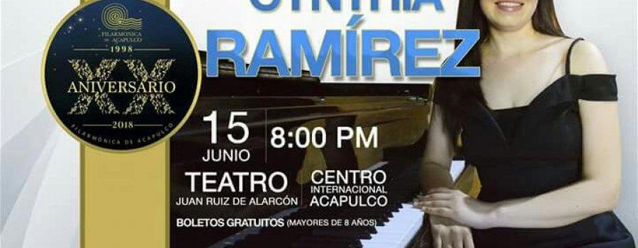 Una noche de gala con: Cynthia Ramírez