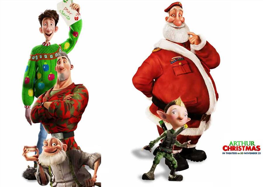 Arthur Christmas Santa.Arthur Christmas