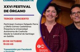 XVI Festival de Órgano
