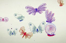 The Origin of Butterflies and Beads
