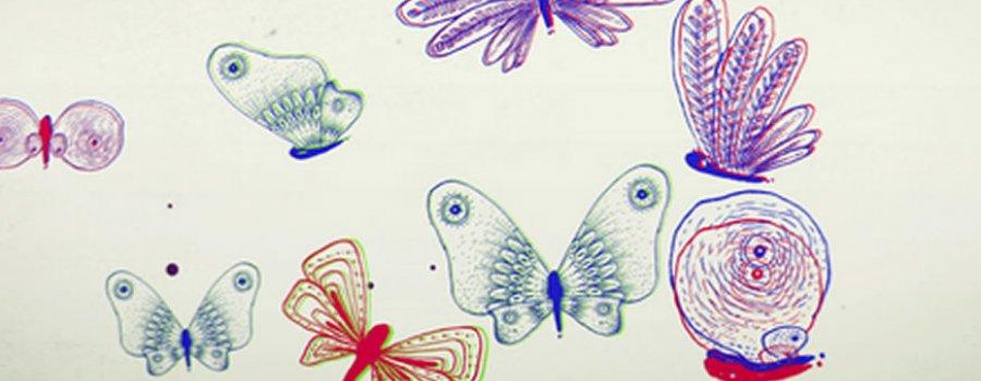El origen de las mariposas y la chaquira
