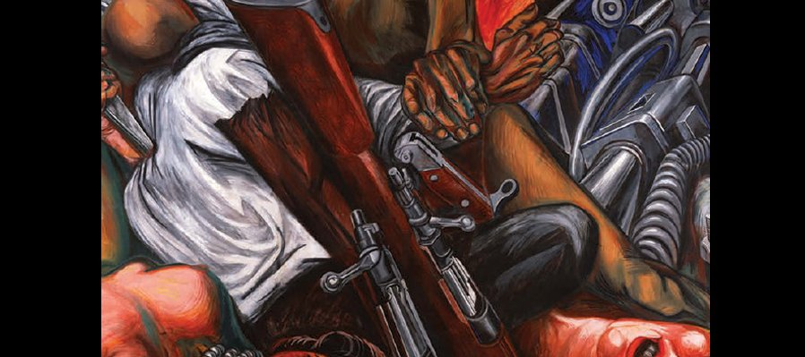 Echa a volar tu imaginación con el mural de José Clemente Orozco