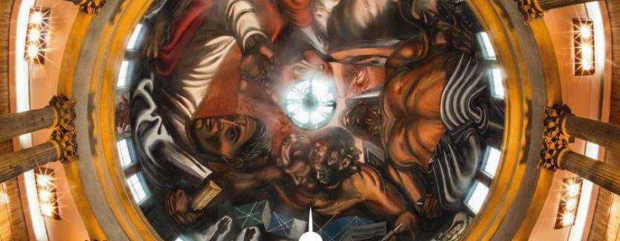 Murales de José Clemente Orozco en el Paraninfo