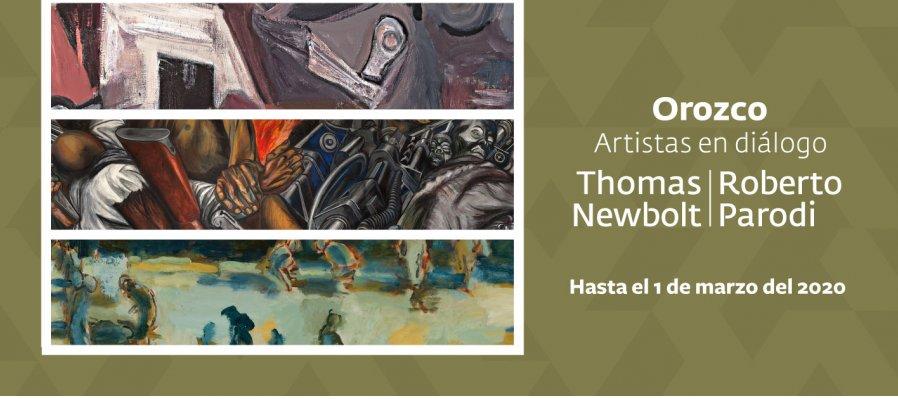 Orozco, artistas en diálogo | Thomas Newbolt y Roberto Parodi