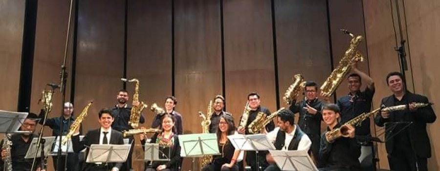 Saxophone Orchestra of the School of Music of the UNAM