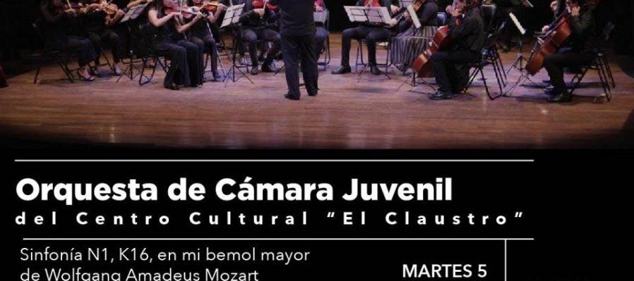 Mozart por la orquesta juvenil de El Claustro