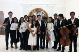 Coyohuacan Symphony Orchestra. Concert