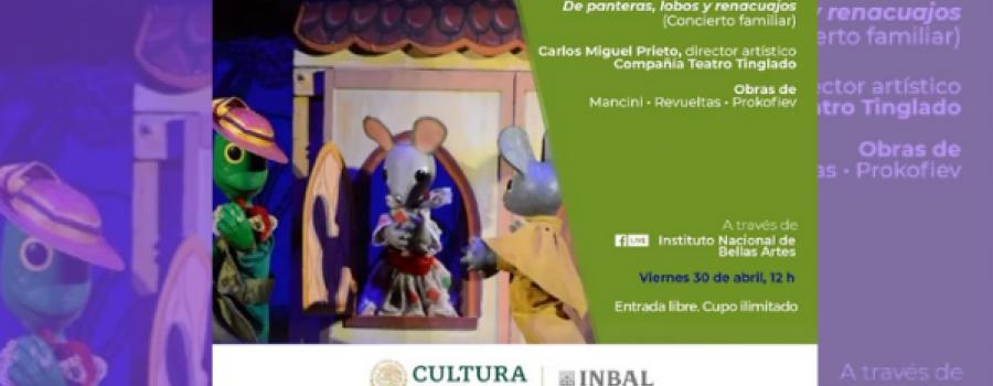 De panteras, lobos y renacuajos / Orquesta Sinfónica Nacional