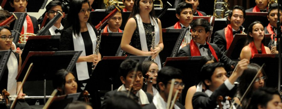 28th National Tour of the Children's Symphony Orchestra of Mexico