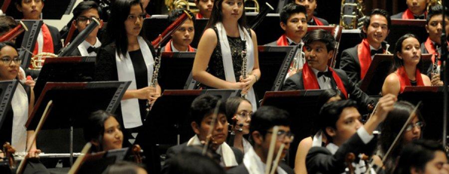 28ª gira nacional de la Orquesta Sinfónica Infantil de México