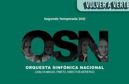 Orquesta Sinfónica Nacional / Programa 14