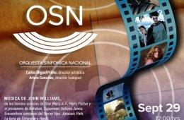 Orquesta Sinfónica Nacional (OSN) Música de John Willia...