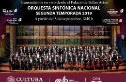 Orquesta Sinfónica Nacional. Mariachi Sinfónico. Progra...