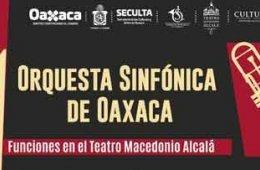 Orquesta Sinfónica de Oaxaca- Concierto 3