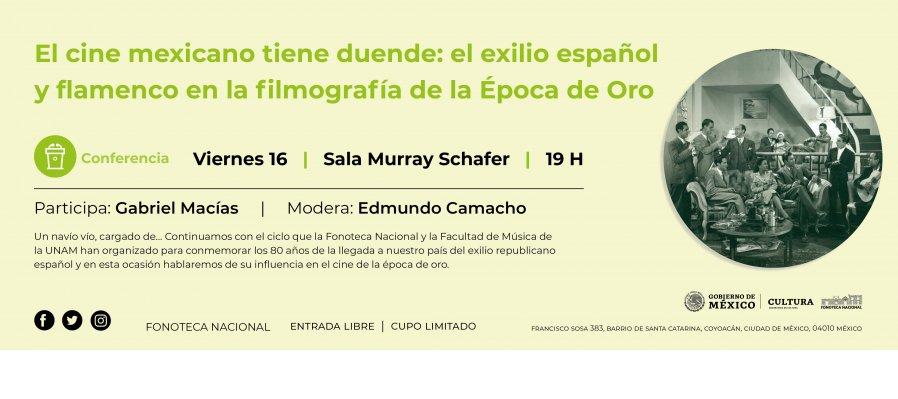 El cine mexicano tiene duende: el exilio español y flamenco en la filmografía de la Época de Oro