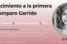 Recognition to the First Actress: Amparo Garrido