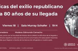 Las músicas del exilio republicano español a 80 años d...