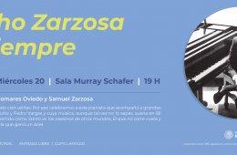 Sesión de Escucha | Chucho Zarzosa por siempre