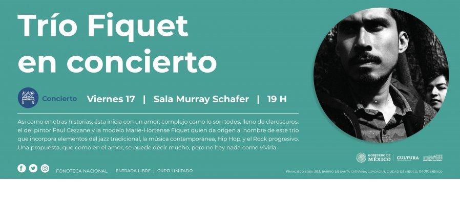 Concierto Trío Fiquet en concierto.