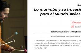 """Concierto / Presentación de disco: """"La marimba y su tr..."""