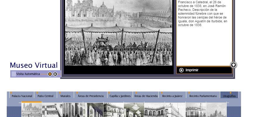 Conoce el Museo Virtual Palacio Nacional