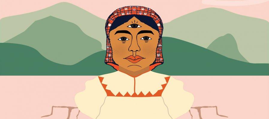 Lectura en ralámuli, música de Paola Tásai y taller de cómic