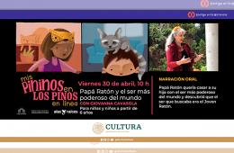 Mis Pininos en Los Pinos en línea: Papá Ratón y el ser...