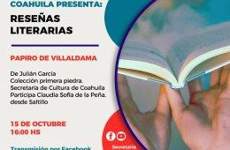 Reseñas Literarias: Papiro de Villaldama de Julián Garc...