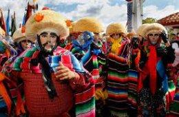 Sones y zapateados; Danza de parachicos