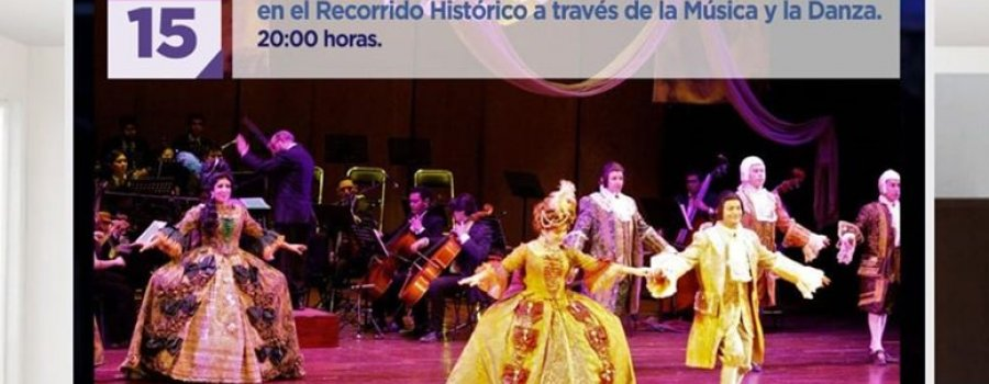 Participación de la Orquesta Sinfónica de Chiapas en el Recorrido Histórico a través de la Música y la Danza